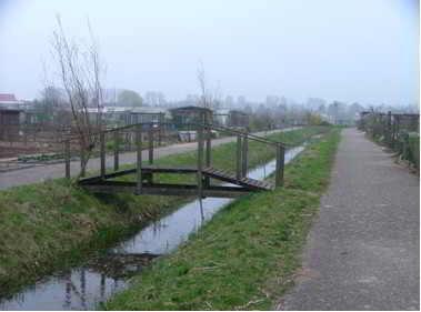 Het nieuwe brug