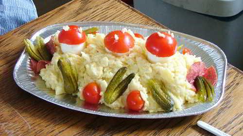Artistieke salades!