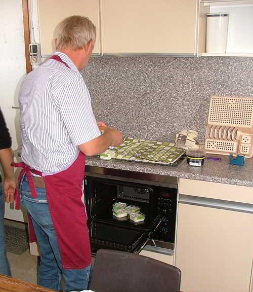 Wordt meteen de nieuwe keuken geruisloos ingewijd!