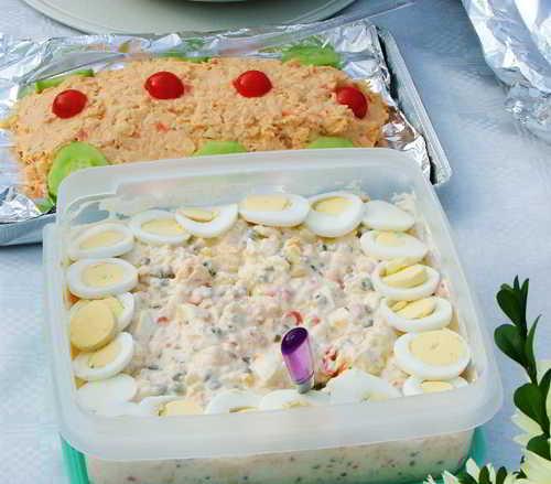 Salades rijk bemeubeld…!